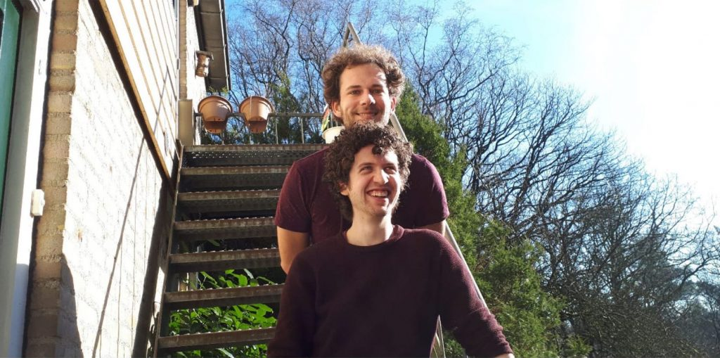 Muzikaal duo Ties en Alex